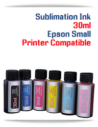 30ml Sublimation Ink Epson Desktop printers compatible
