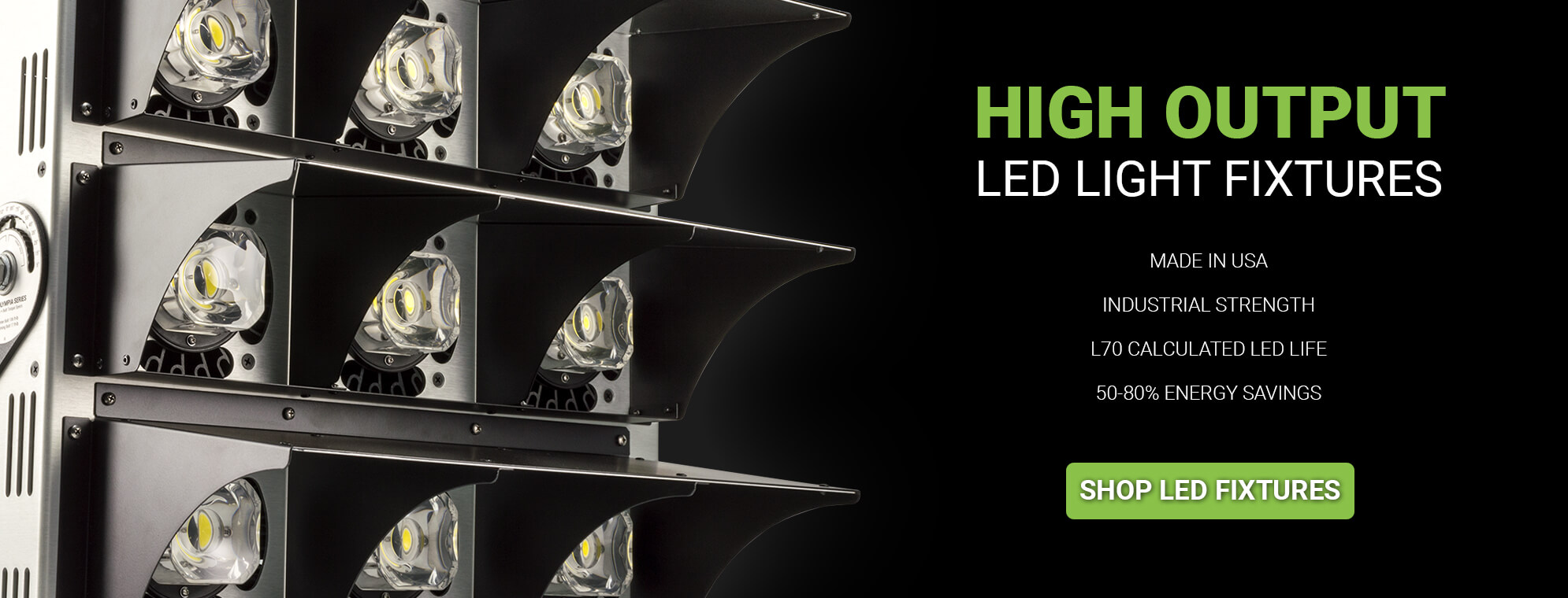 High Output LED Light Fixtures