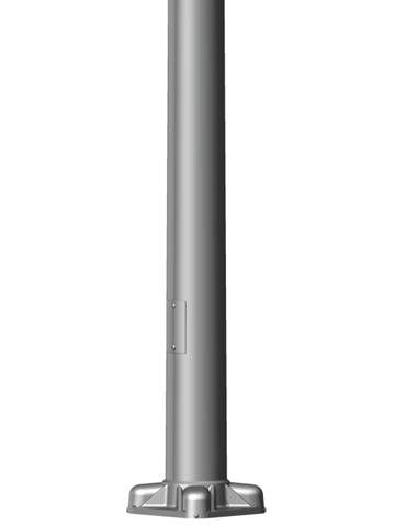 39 Tall X 10in Base Od X 6 0in Top Od X 0 250in Thick