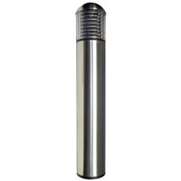Dome Stainless Steel Round Bollard Light with Louvers