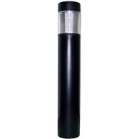 Flat Top Round Bollard with IES Type III Glass