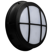 Excel Round Bulkhead Wall Pack with Grid Frame