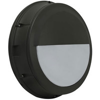 Excel Round Bulkhead Wall Pack with Half Cutoff