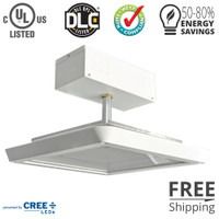 "186w 16"" Low Profile Canopy Light"