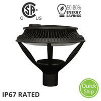 Open Post Top Light Fixture