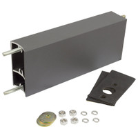 "10"" Aluminum Extruded Mounting Arm for Light Fixtures"