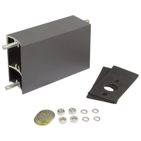 "6"" Aluminum Extruded Mounting Arm for Light Fixtures"