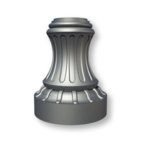 Decorative Trenton Style Light Pole - Base Detail