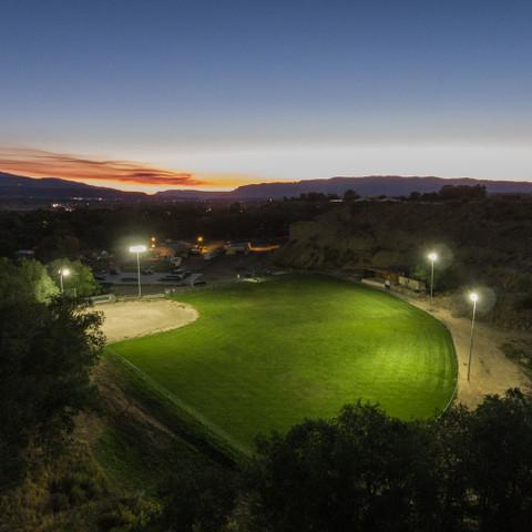Baseball Diamond Sports Lighting Project - Image 1