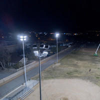 #0881: New LED Helios Fixtures Installed for Baseball Field Project - Apple Valley, CA