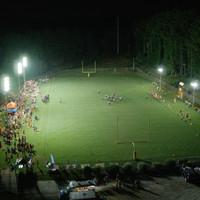 "#2301: Grace Christian High School | 567w LED 20"" Sports Light Zeus Lighting Install"
