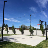 #5776: Home Backyard Basketball Court Lighting - Step by Step Guide