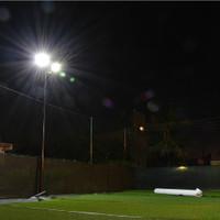 "#2160: Miami Soccer Station | 200w LED 16"" Shoebox Lighting Install"