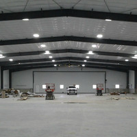 LED Barn / Shop Lighting Install