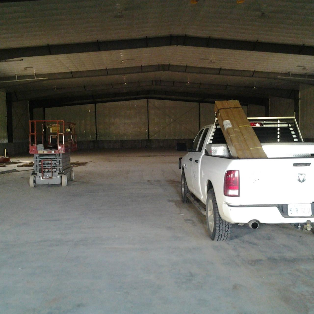 #2710: 20,000 Sq. Ft. Barn / Shop High Bay Install