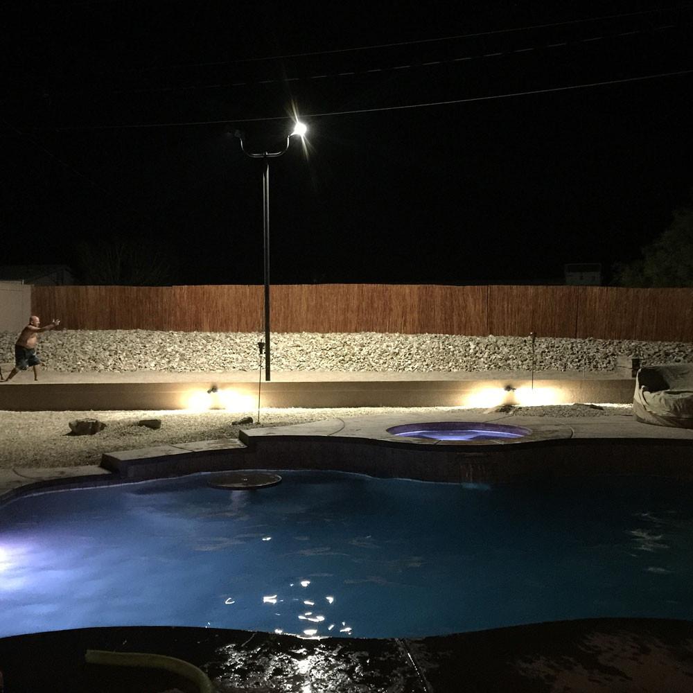 Backyard Rink Lighting: #5886: Backyard Horseshoe Pit