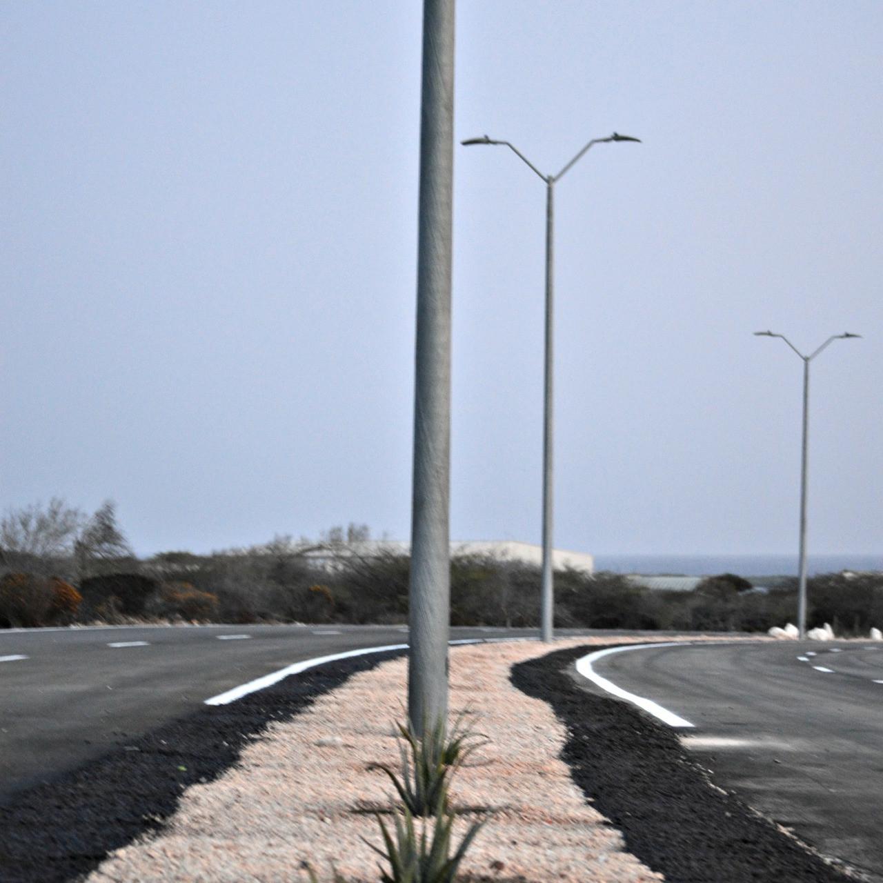 Light Poles Plus: #3465: Fiberglass Roadway Light Poles