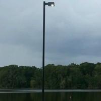 #6254: Shrimp Dock Light Pole & Light Fixture Package
