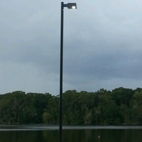 #6254: Shrimp Dock Light Pole & Light Fixture Package