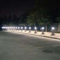 #6866: Bollard Parking Lot Lighting Improvements