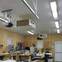 #2758: LED Wood Shop Lighting - Incredible + Efficient