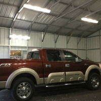 LED Low Bay Lighting illuminating the World Class Auto Shop