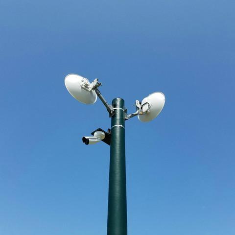0842 Site Security Application Custom Fiberglass Light