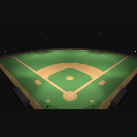 0739 Little League Baseball Field Photometric Lighting
