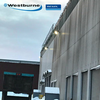 LED 350w Sports light fixtures used in -22 degree weather at the Westburne distribution center in Ontario, Canada.