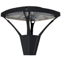 176w LED Open Square Post Top Light Fixture