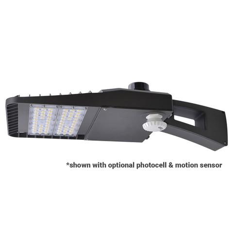 """18"""" Low Profile Area Light Fixture w/ Pole Mount Arm"""