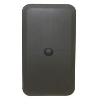 3.25in x 6.25in Rectangle Light Pole Hand Hole Cover with Bracket