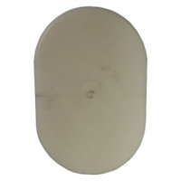3.5in x 5.5in Oval Light Pole Hand Hole Cover with Bracket