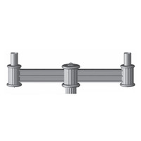 Aluminum Decorative Lancaster Light Pole Bracket