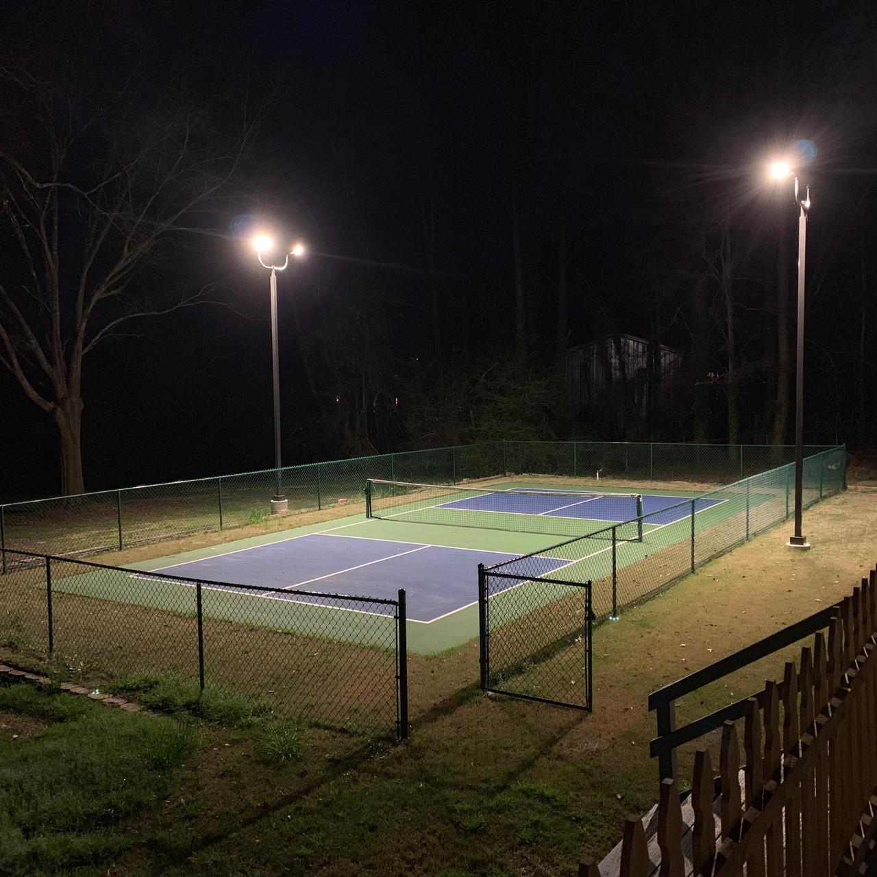 #4872: Complete LED Lighting Package | DIY Pickleball Court