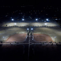 Fort Mojave Community Sports Park w/ LED Sports Light Fixtures