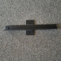 *OVERSTOCK* - Steel Cross Arm Bracket - Black Finish
