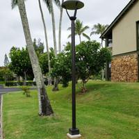 Light pole and brackets for Condo association