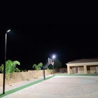 Full Court Basketball Lighting Kit In Use