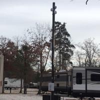 #11299: Satellite & WiFi Antenna Light Poles For Mobile Home Park