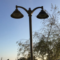 Decorative LED Lighting installed for Ramona Garden Park