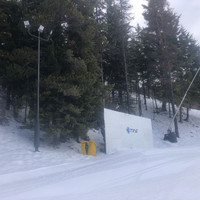 Light poles for ski and board resort project