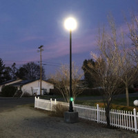 Decorative LED Lighting and Light Pole for Home Parking Application in California