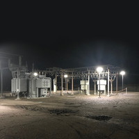 LED lighting for energy substation project
