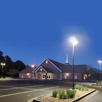 LED lighting for parking lot at Northside Church of Christ