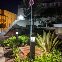LED Bollard light fixtures for condominium complex