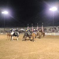 LED sports lighting for Camp Verde Rodeo Arena