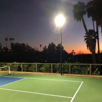 Pickleball court lighting project located in La Mesa, California.