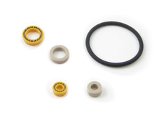 Piston Seal UHMW-PE Replacement Kit, SSI Accuflow  Series  2, 3, 4