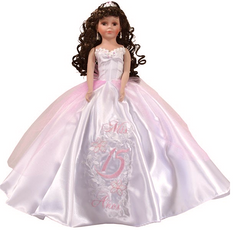 Pink Quinceanera Doll, available in any color